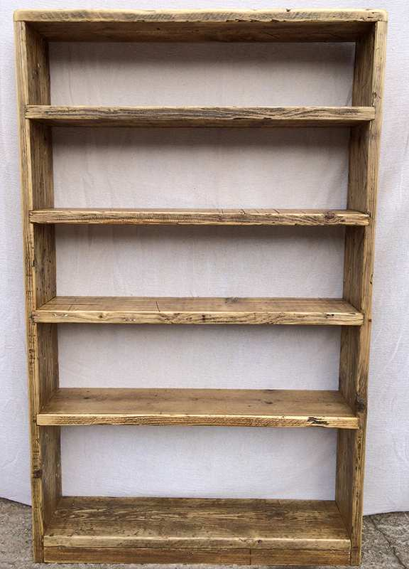 Reclaimed bookcases tall