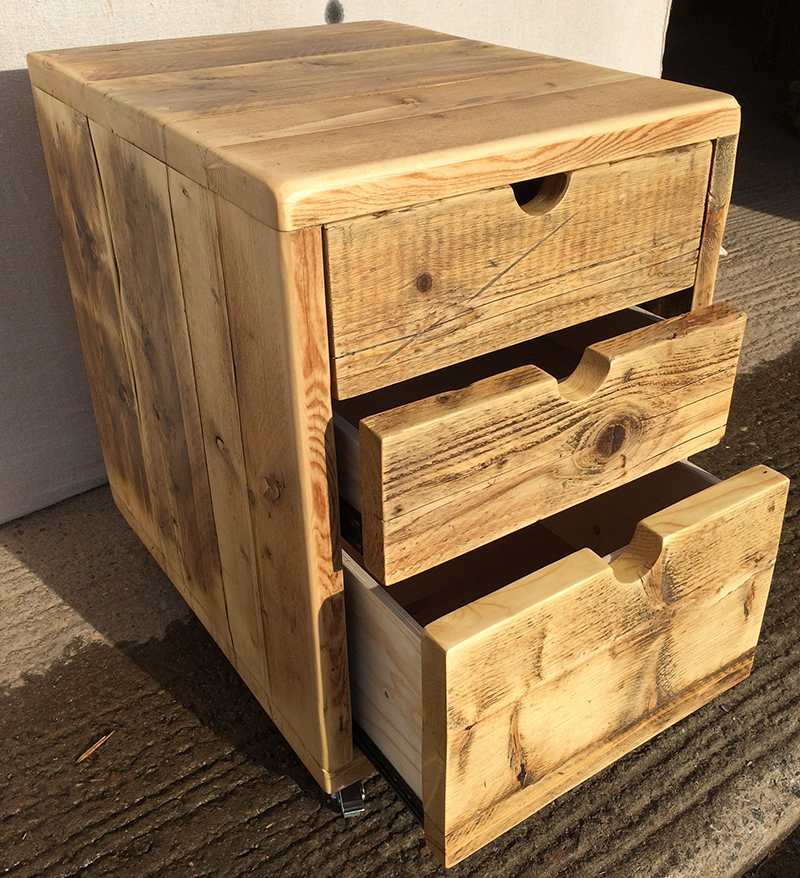 reclaimed wood filing cabinets