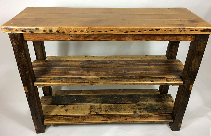Kitchen island butchers block